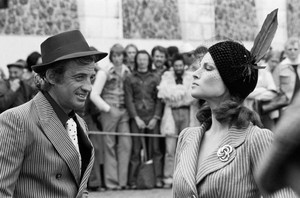 5.1975 Jean Paul Belmondo Montmartre Paris