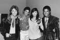 Backstage With Andy Gibb And Victoria Principal  - michael-jackson photo