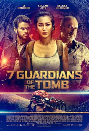7 Guardians of the Tomb (2018) Poster