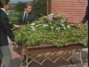 Andy Gibb's Funeral Back In 1988