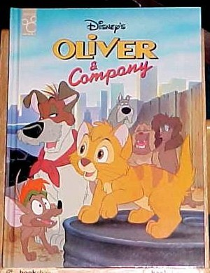 Oliver And Company Storybook