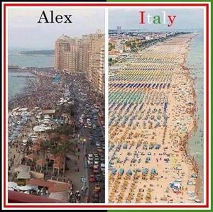 ALEXANDRIA EGYPT VS ITALY