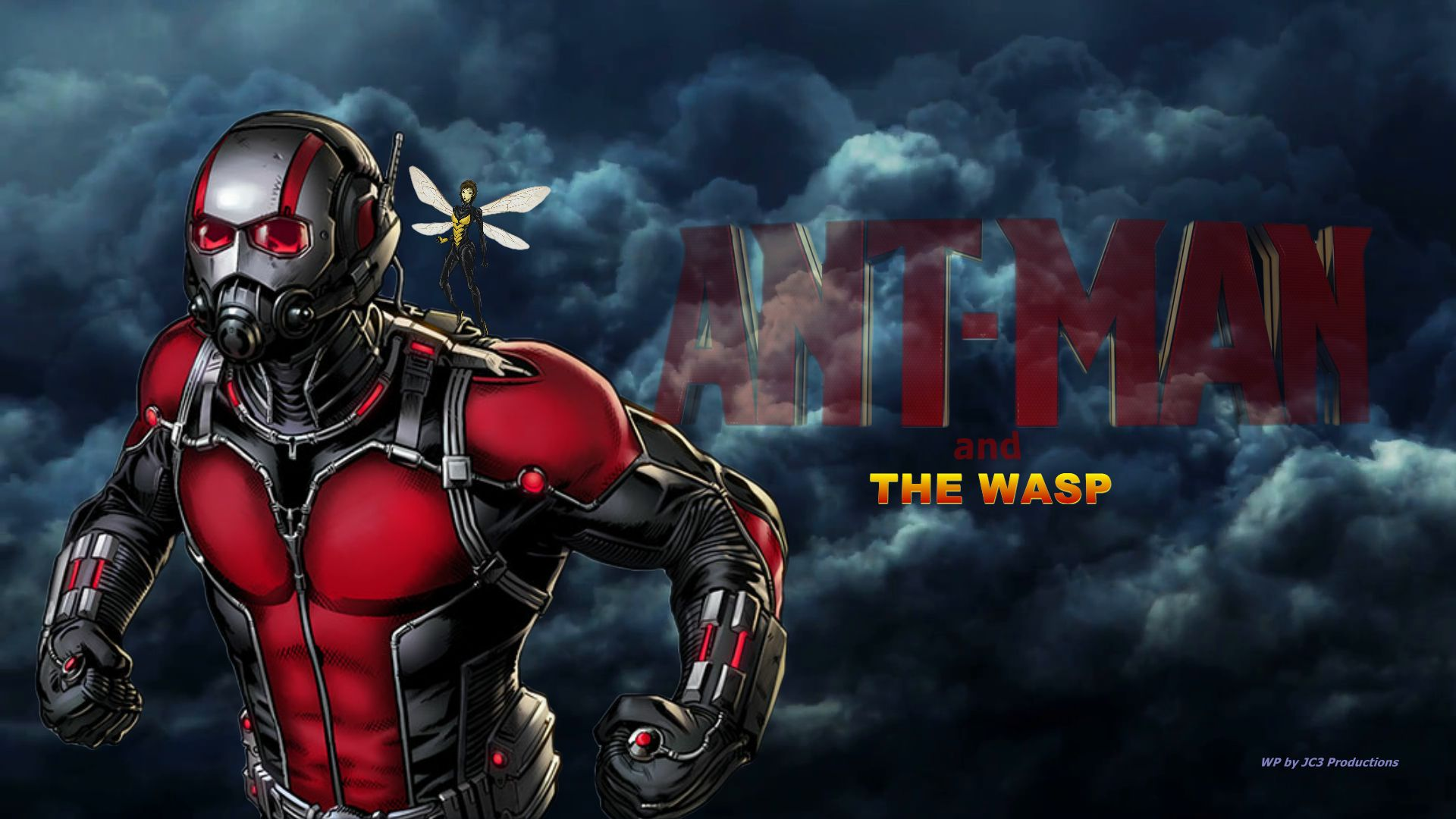 ANT MAN The ong vò vẻ, wasp