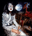 Ace ~Hollywood, California...August 18, 1974 (Hotter than Hell photo shoot) - kiss photo