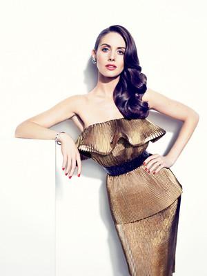 Alison Brie for Vanity Fair