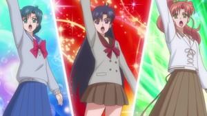 Ami Rei and Makoto