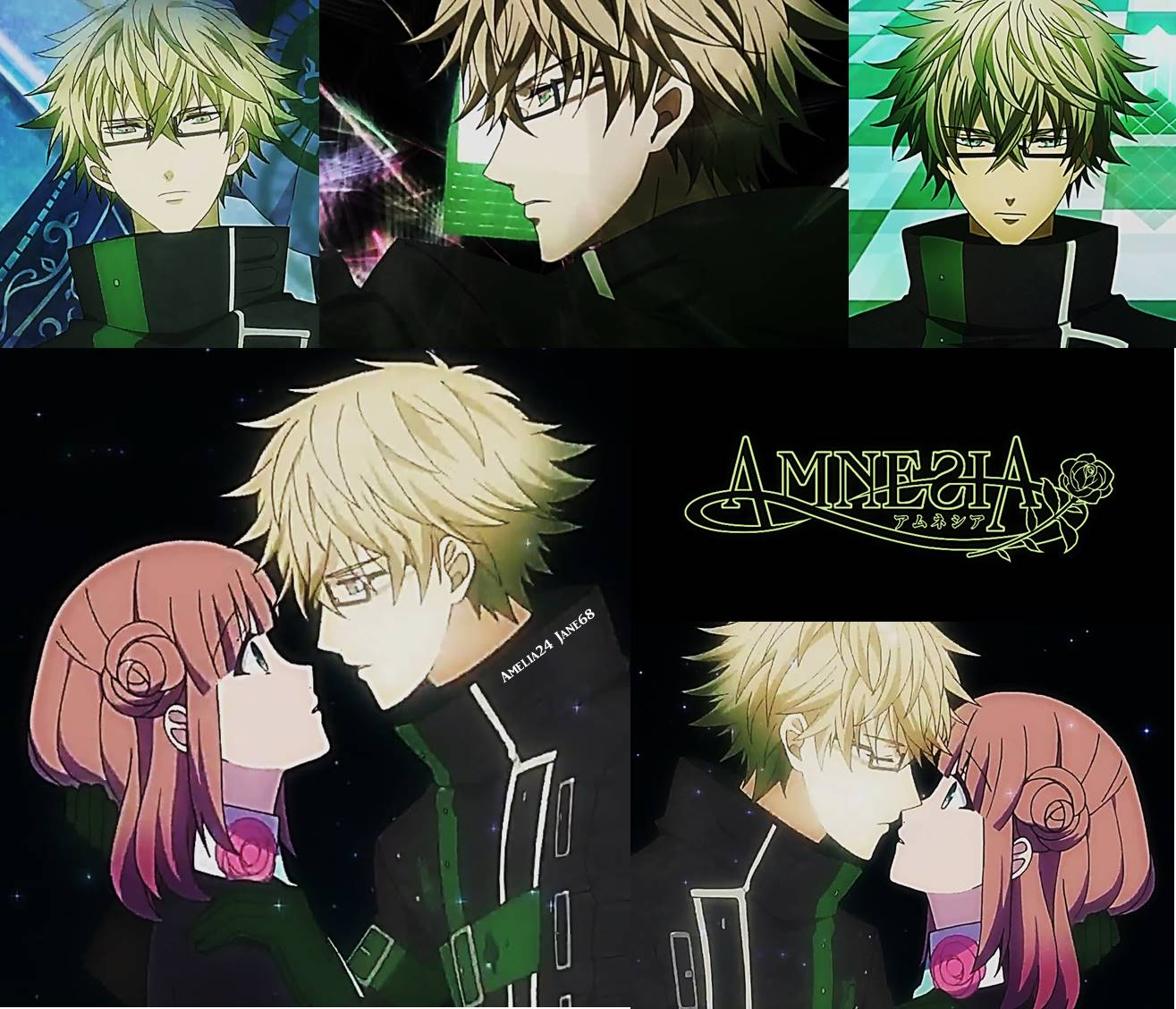 Anime Guys Images Amnesia Kent And Heroine HD Wallpaper Background Photos