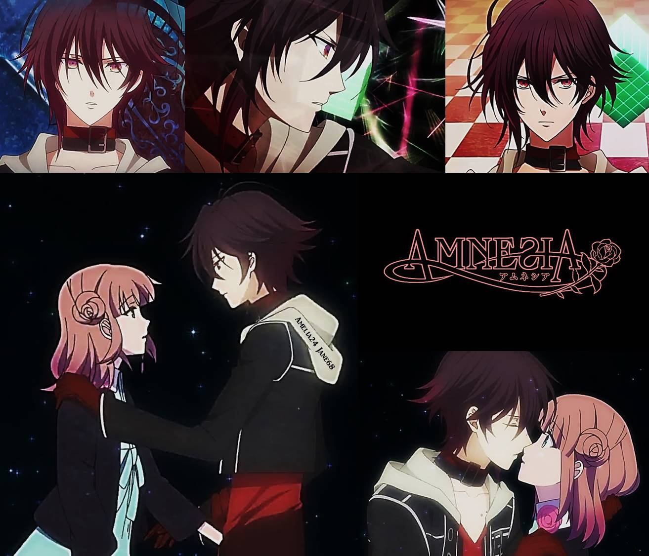Anime Guys Images Amnesia Shin And Heroine HD Wallpaper Background Photos
