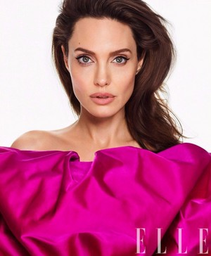 Angelina Jolie for Elle Magazine [March 2018]