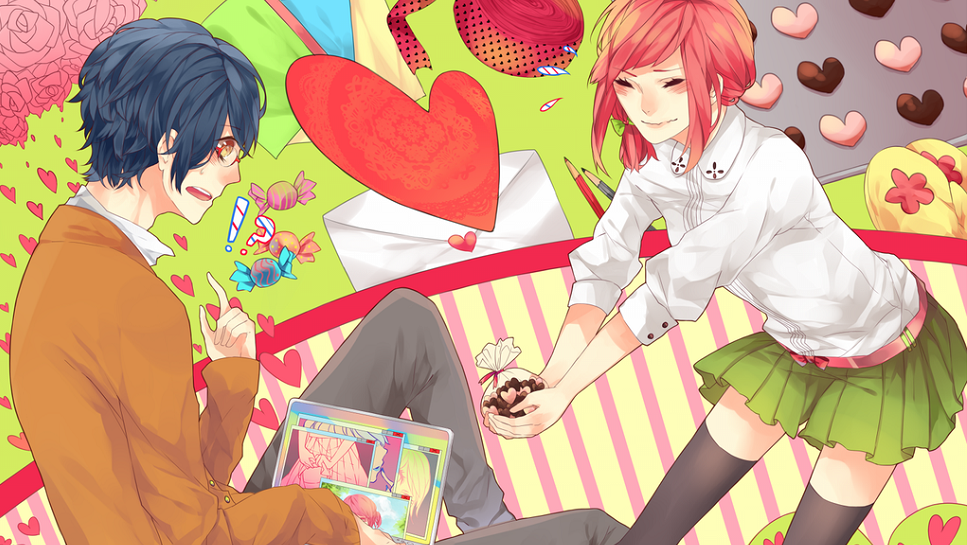 Applebear123 Images Anime Girl Valentines Day 967x545 Hd Wallpaper