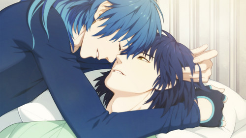 Yaoi Fanfiction wallpaper entitled Aoba x Ren