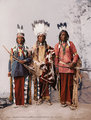 Apache Chiefs Garfield, Ouche-te Foya and Sanches 1899 (Beinecke Library Digital Collections)