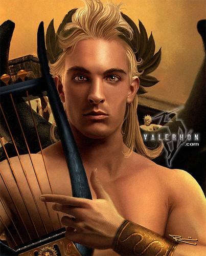 thần thoại Hy lạp hình nền titled Apollo bởi Valerhon