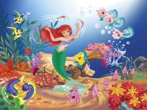 Disney-Prinzessin Hintergrund called Ariel