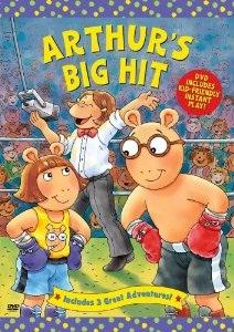 Arthur karatasi la kupamba ukuta entitled Arthur's Big Hit