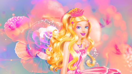 Barbie films achtergrond titled Barbie Fairytopia