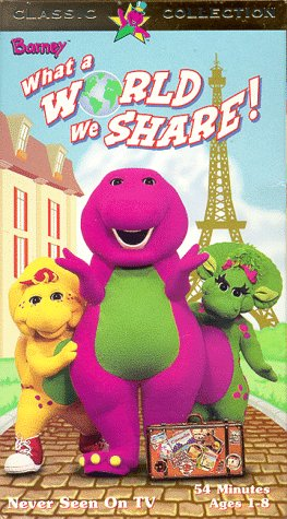 Barney What a World We Share (1999)