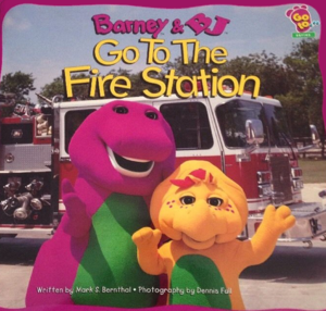 Barney and BJ Go To The 火災, 火 Station