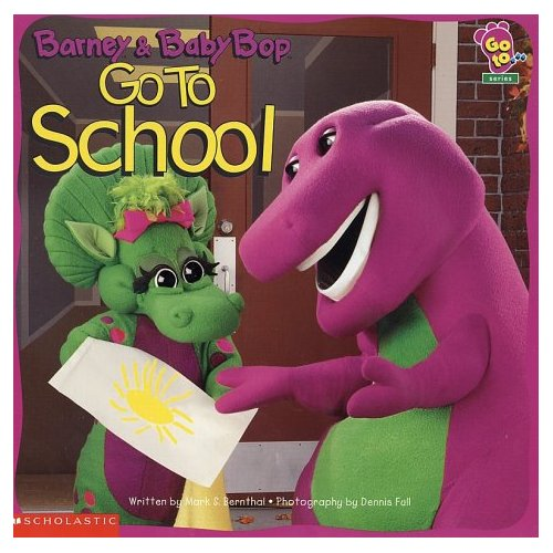 Barney u0026 vrienden achtergrond called Barney and Baby Bop Go To School  sc 1 st  Fanpop : barney a tent too full - memphite.com