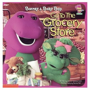 Barney and Baby Bop Go To The Grocery Store