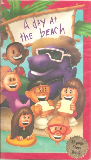 Barney and the Backyard Gang: A день at the пляж, пляжный Book