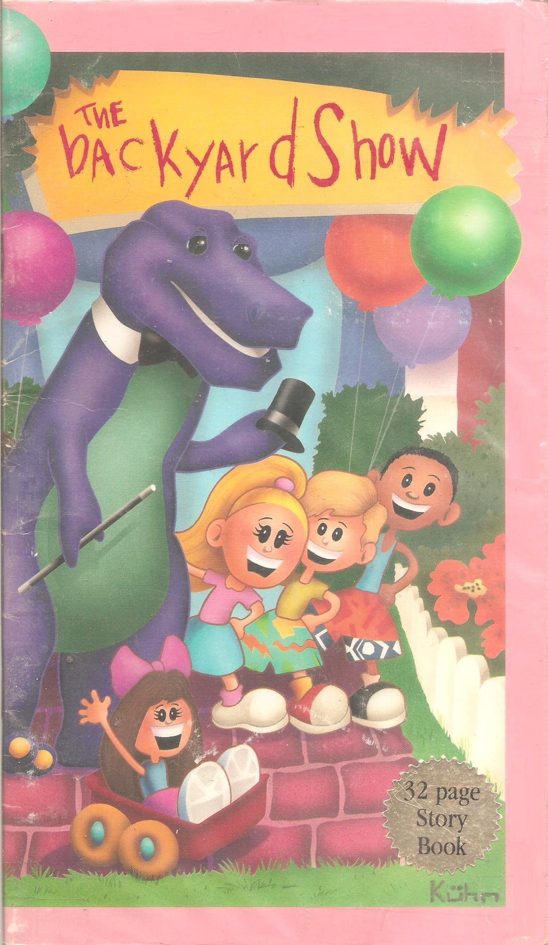 Barney Friends Images Barney And The Backyard Gang The Backyard