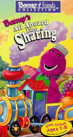 Barney's All Aboard For Sharing (1996)