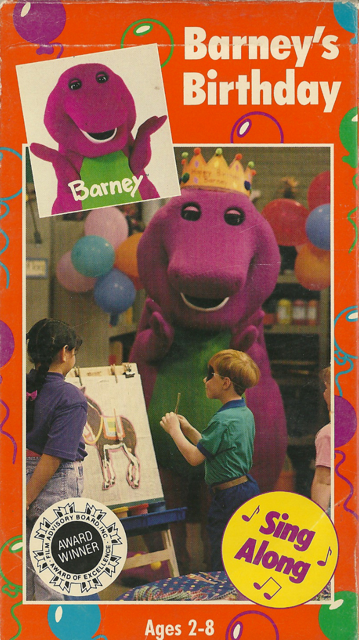Barney Friends Images Barneys Birthday 1992 Hd Wallpaper And
