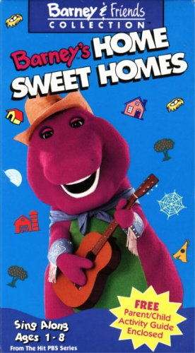 Barney's home pagina Sweet Homes (1993)