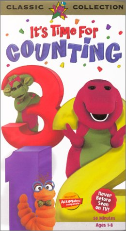 Barney's It's Time For Counting (1998)