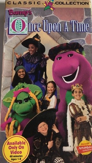 Barney's Once Upon A Time (1996)