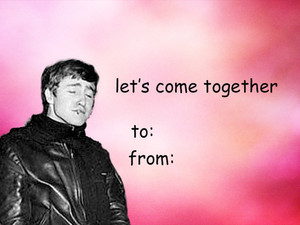 Beatles Valentine Card