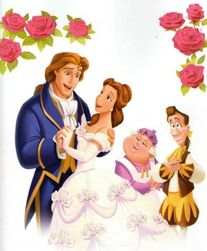 Belle and Adam ディズニー princess 32075368 500 606