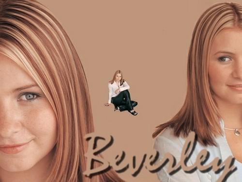 Beverley Mitchell achtergrond titled Beverly Mitchell
