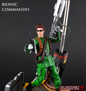Bionic Commando bust