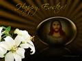 Blessed Happy Easter - jesus fan art
