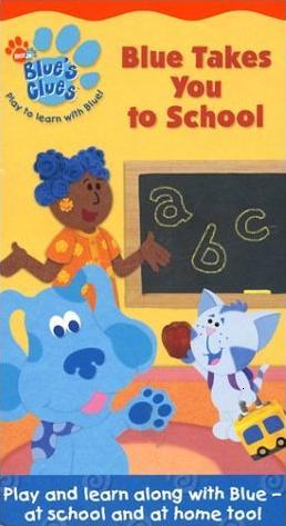 Blue Takes te to School