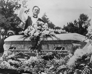 Carole Landis' Funeral Back In 1948