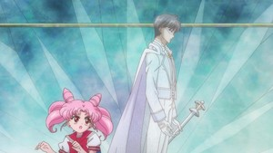 Chibiusa and King Endymion
