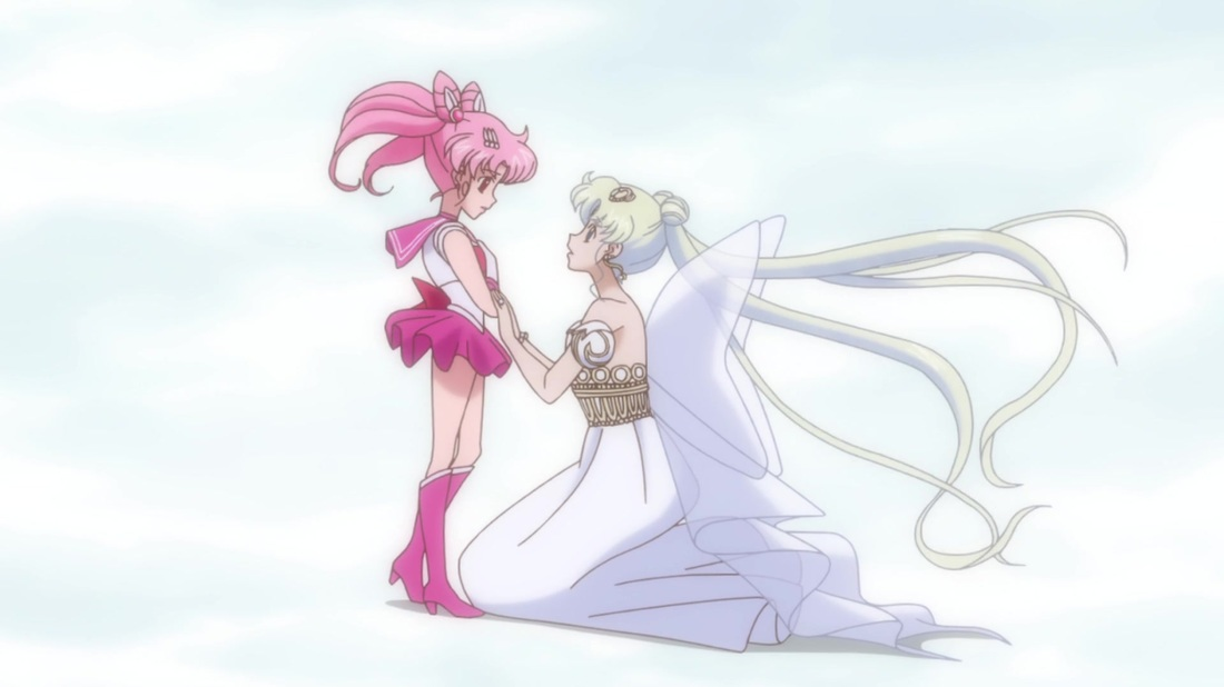 Chibiusa and Neo Queen Serenity