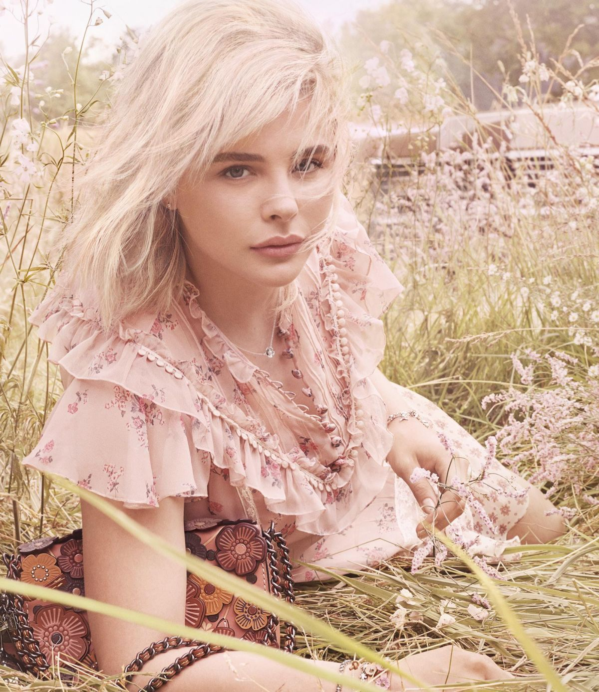 Chloe Grace Moretz Stars in Coachs Latest Ad Campaign