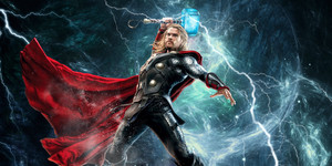 Chris Hemsworth Thor Art によって PC Designs