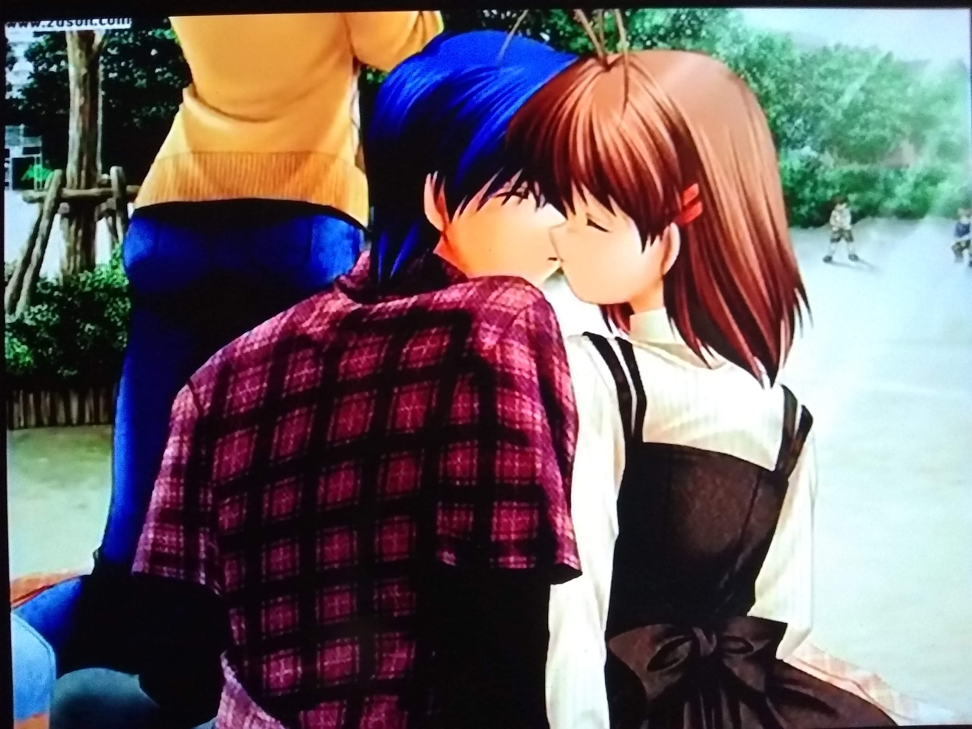 Clannad Tomoya Nagisa S First Kiss Clannad After Story Photo