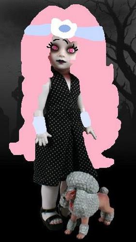 Living Dead Puppen Hintergrund called Crystal Starr