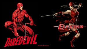 Daredevil Elektra Together