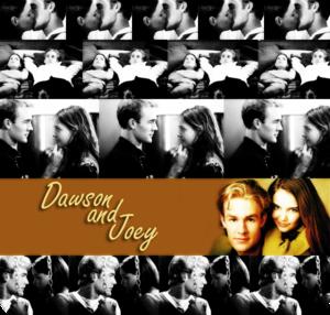 Dawson & Joey 壁紙