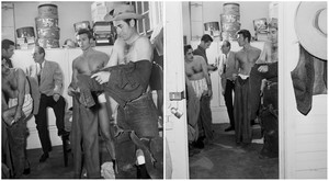 During a fitting for Rawhide 1958