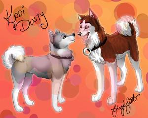 Dusty and Kodi Fanart