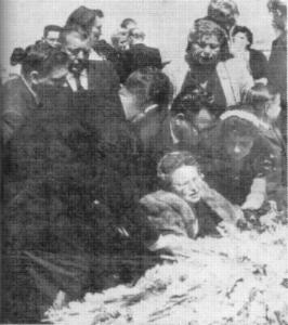 Eddie Cochran's Funeral In 1960
