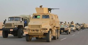 EGYPT ARMY WAR IN SINAI